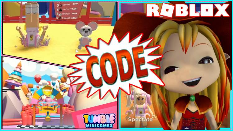 Roblox Tumble Minigames Gamelog - September 07 2020