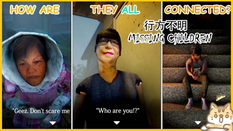 Horror let's play: Missing Children | 行方不明 - Japanese Horror Indie Game Part 1