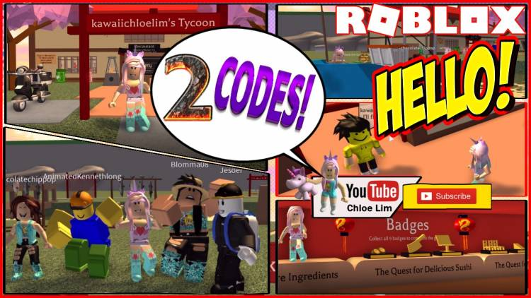 Roblox Sushi Tycoon Gamelog - August 14 2018