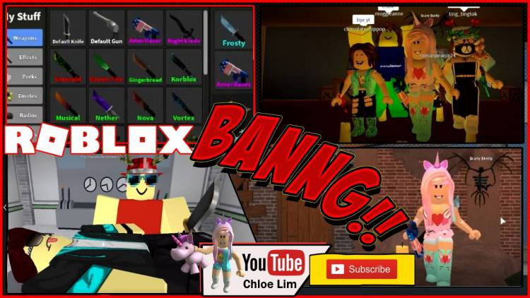 Roblox Murder Mystery 2 Gamelog November 7 2018 Free Blog
