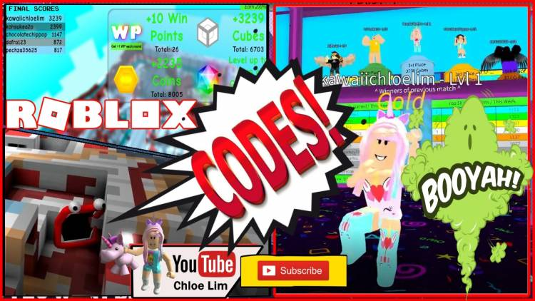 Roblox Colour Cubes Gamelog - January 16 2019