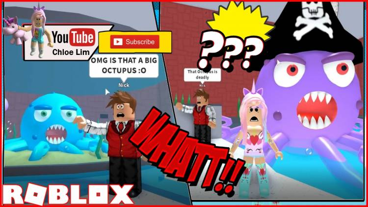 Roblox Escape The Aquarium Obby Gamelog - January 29 2019