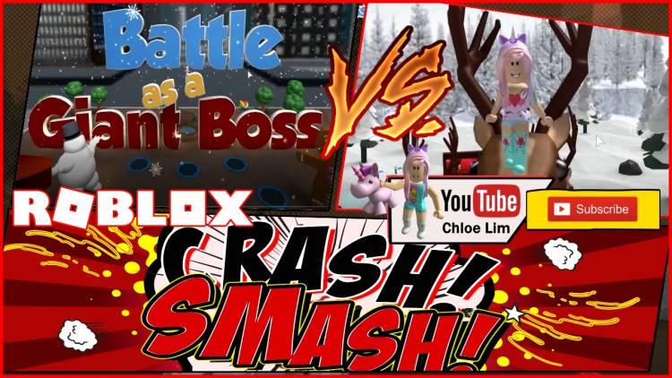 Roblox Battle As A Giant Boss Gamelog - February 6 2019