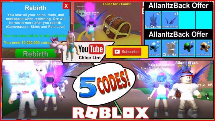 Roblox Mining Simulator Gamelog - May 21 2018
