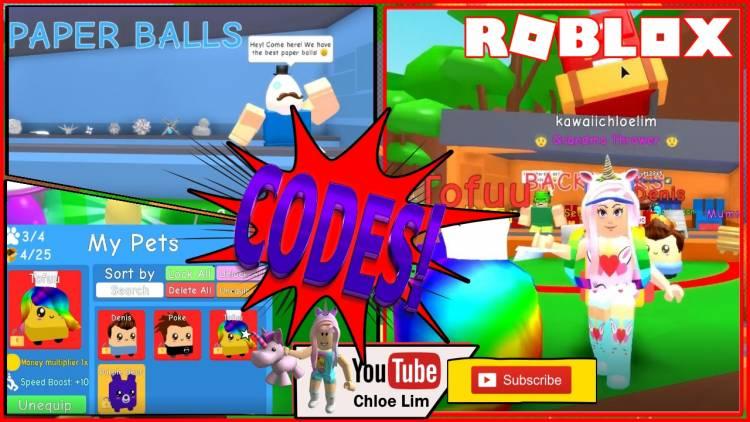 Roblox Paper Ball Simulator Gamelog - May 13 2019