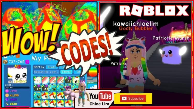 Roblox Bubble Gum Simulator Gamelog - July 24 2019