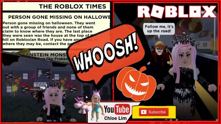 Roblox Trick or Treat Gamelog - October 21 2019