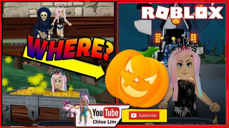 Roblox Bloxween Hide n Seek Gamelog - October 31 2019