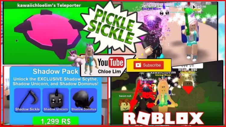 Roblox Mining Simulator Gamelog - June 6 2018