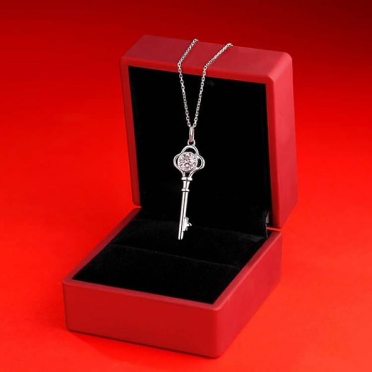 N90 Moissanite Diamond Necklace