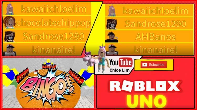 Roblox Uno Gamelog - June 22 2018