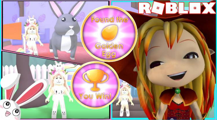Roblox Easter Obby Gamelog - April 01 2021