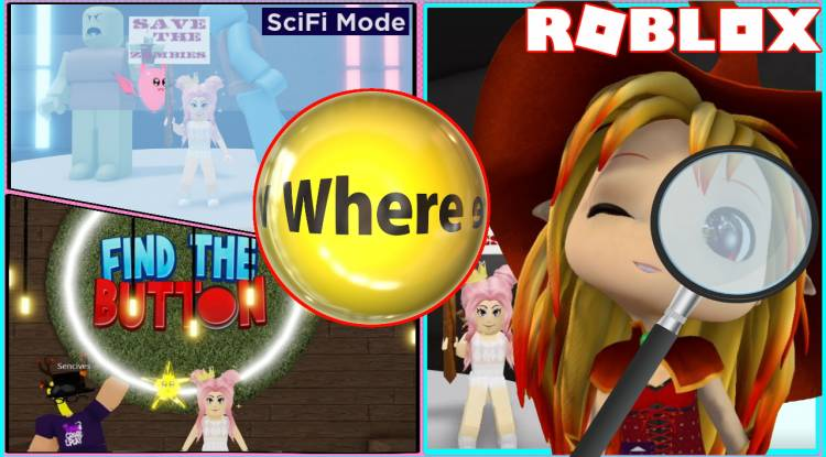 Roblox Find The Button V2 Gamelog - May 11 2021