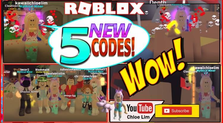 Roblox Mining Simulator Gamelog - July 29 2018