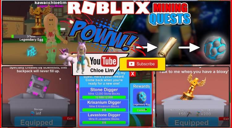 Roblox Mining Simulator Gamelog - May 2 2018