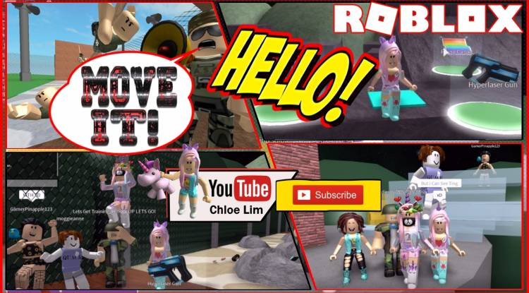 Roblox Army Training Obby Gamelog - August 26 2018
