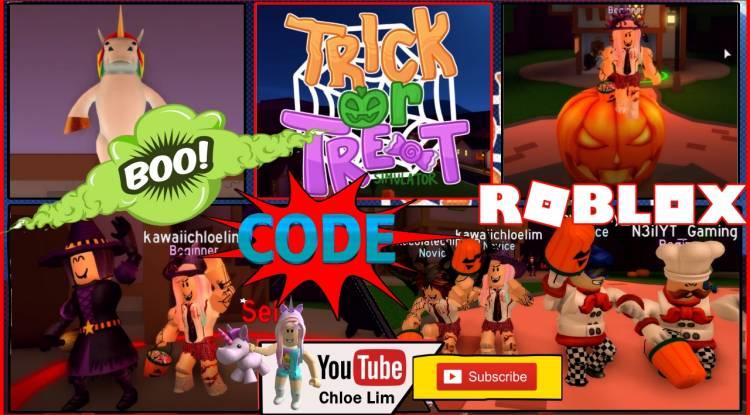 Roblox Trick or Treat Simulator Gamelog - September 28 2018