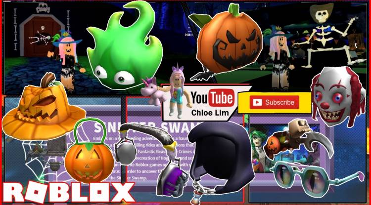 Roblox Sinister Swamp Gamelog - October 22 2018