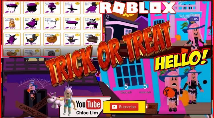 Roblox MeepCity Gamelog - October 24 2018