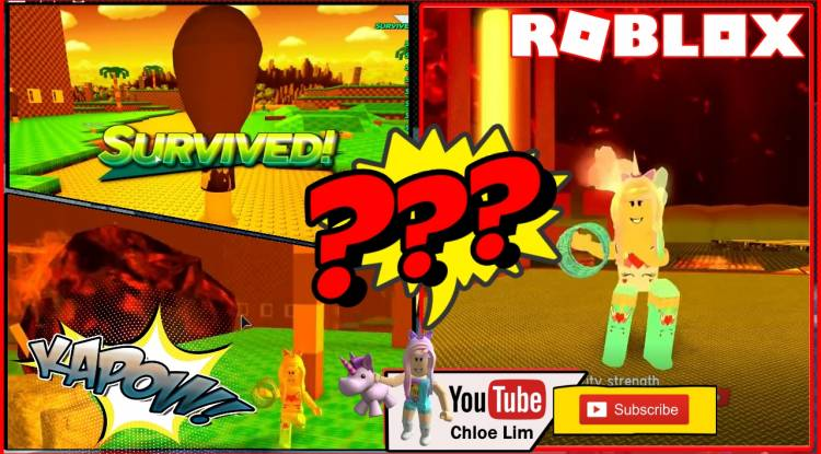 Roblox Survive The Disasters 2 Gamelog - February 5 2019