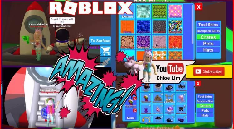 Roblox Mining Simulator Gamelog - April 28 2018