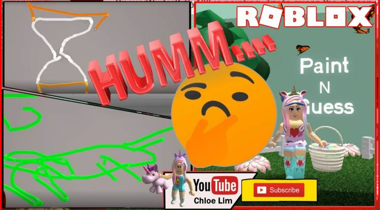 Roblox Paint N Guess Gamelog - May 9 2019