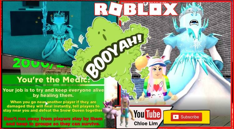 Roblox Destroy The Snow Queen Gamelog - May 22 2019