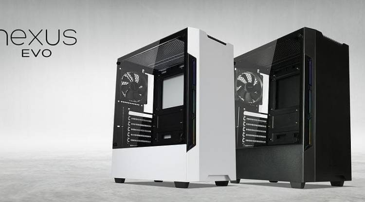 Tecware Nexus EVO TG ATX Case, 3 x 12cm Fans Included (2 Color Options)