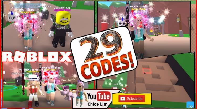Roblox Mining Simulator Gamelog - May 28 2018