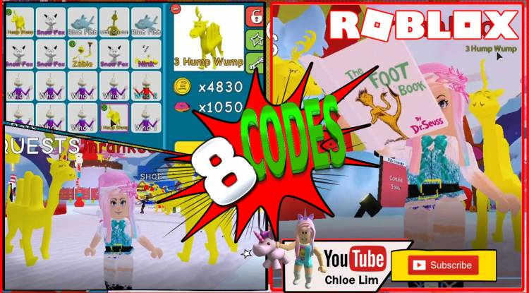 Roblox Dr. Seuss Simulator Gamelog - December 20 2019