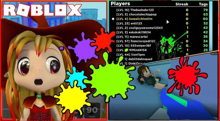 Roblox BIG Paintball Gamelog - January 12 2020