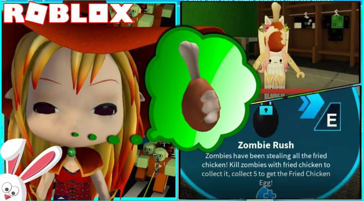 Roblox Zombie Rush Gamelog - April 12 2020