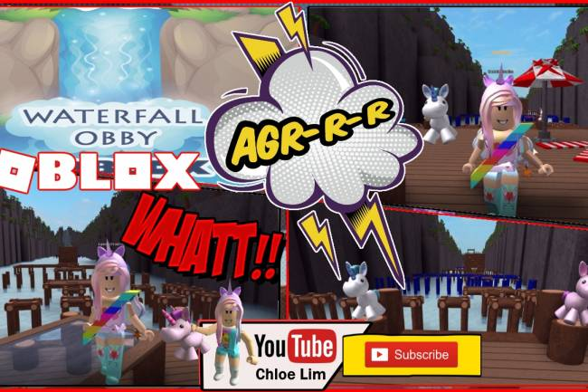 Roblox Waterfall Obby Gamelog - September 10 2018