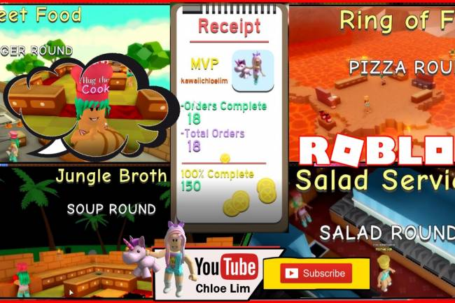 Roblox Dare To Cook Gamelog - January 10 2019