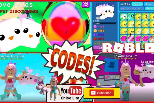 Roblox Bubble Gum Simulator Gamelog - February 15 2019