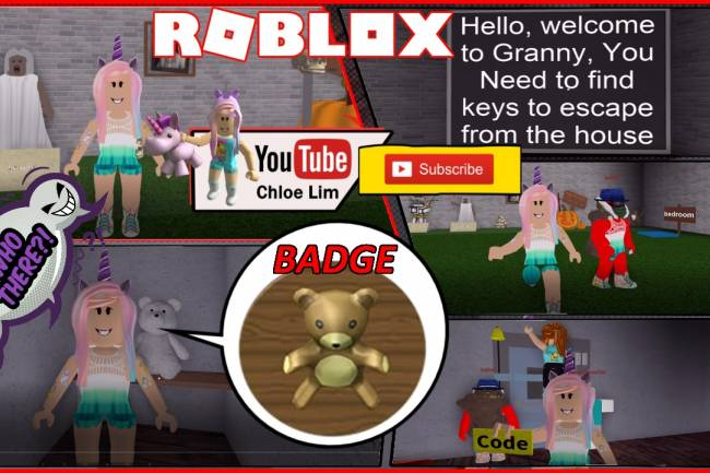 Roblox Granny Gamelog - May 20 2018