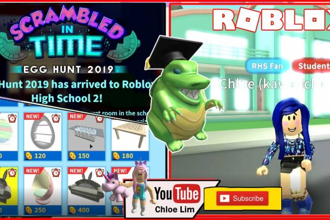 Roblox High School 2 Gamelog - April 29 2019