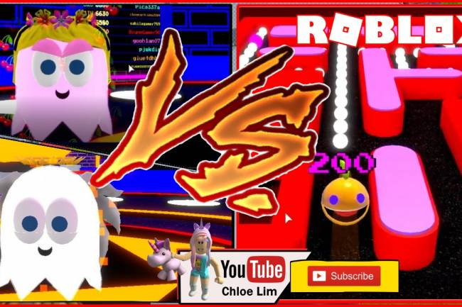 Roblox Pac-Blox Gamelog - June 24 2019