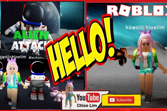 Roblox Alien Attack Gamelog - September 12 2019