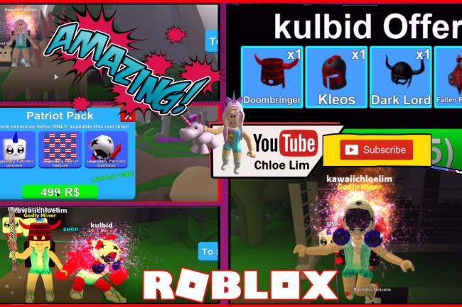 Roblox Mining Simulator Gamelog - May 26 2018