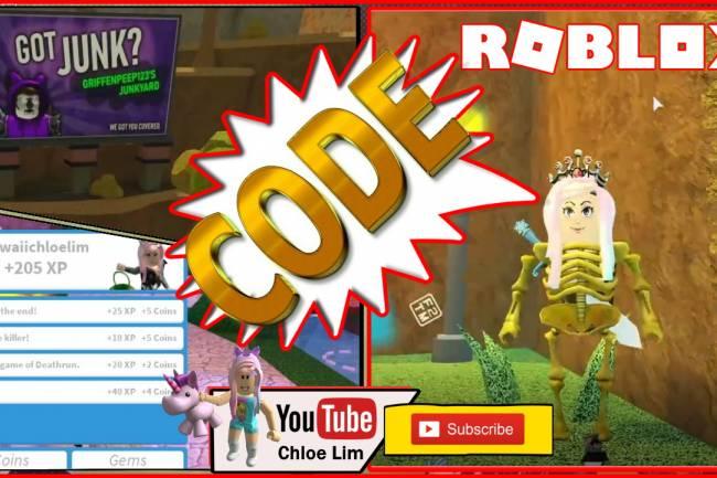 Roblox Deathrun Gamelog - October 28 2019