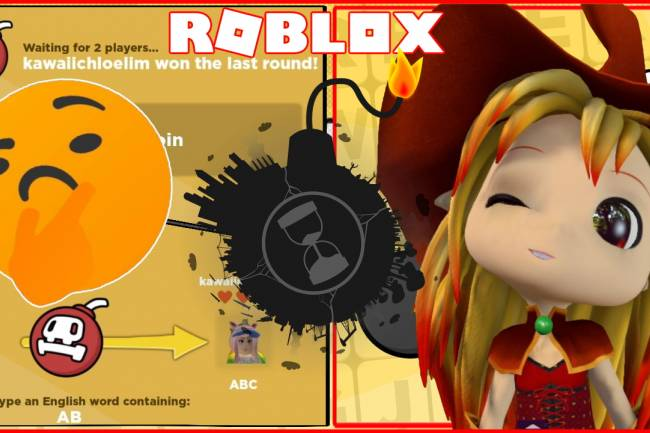 Roblox Word Bomb Gamelog - January 17 2020
