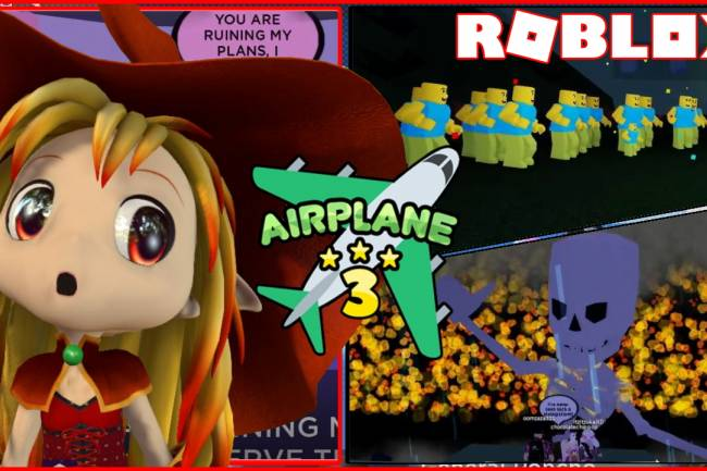 Roblox Airplane 3 Gamelog - March 02 2020