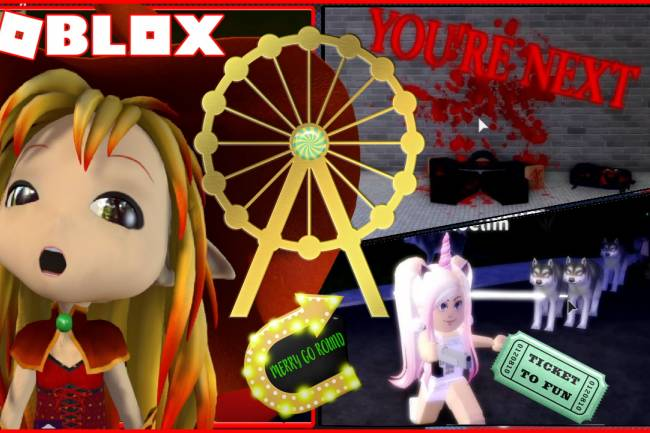 Roblox Amusement Park Gamelog - March 29 2020